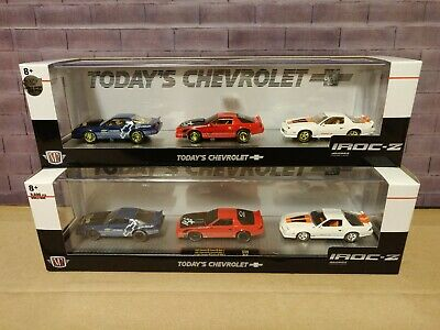 $ CDN160.99 • Buy M2 Machines Auto Haulers Today's Chevrolet Camaro IROC-Z 3 Pack CHASE Walmart Ex