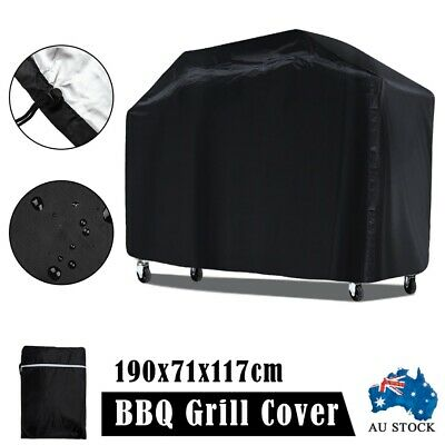 AU20.85 • Buy BBQ Cover 6 Burner Barbecue 190x117 Dust Gas Charcoal Outdoor Waterproof Durable