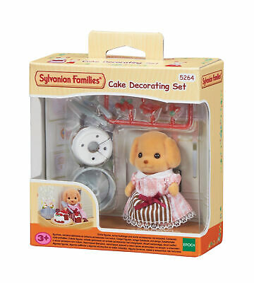 £14.99 • Buy New! 5264 Sylvanian Families Cake Decorating Set Poodle Girl & Accessories 3+