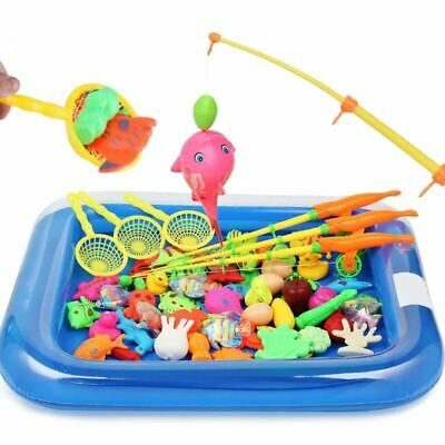 AU44.48 • Buy Toys For Kids 4 5 6 7 8 9 10 11 Year Old Kids Fishing Toy Set Fish Toys Gift