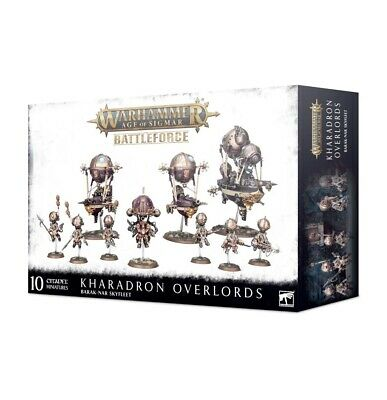 AU212.90 • Buy  Warhammer Age Of Sigmar Kharadron Overlords Battleforce – Barak-Nar Skyfleet
