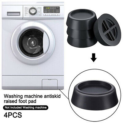 Anti Vibration Mute Protector For Washing Machine Non Slip Feet Pads Dryers 4pc • 8.19£