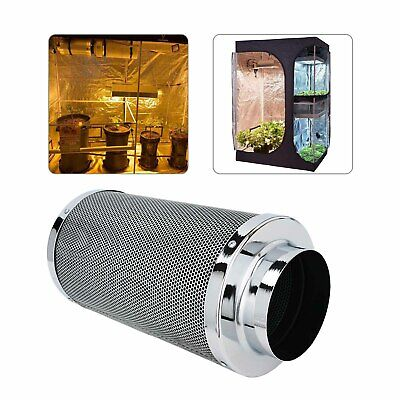 AU69.69 • Buy 6  Inch Carbon Filter Odor Control For Fan Grow Tent Hydroponics Environme