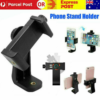 AU12.48 • Buy Universal Smartphone Tripod Adapter Phone Stand Holder Mount For IPhone Samsung