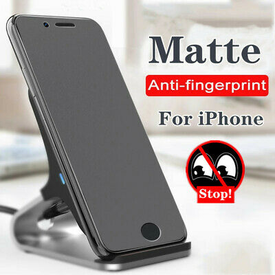 AU7.89 • Buy Matte Privacy Anti-Spy Peeping Tempered Glass Screen Protector For IPhone 11 12