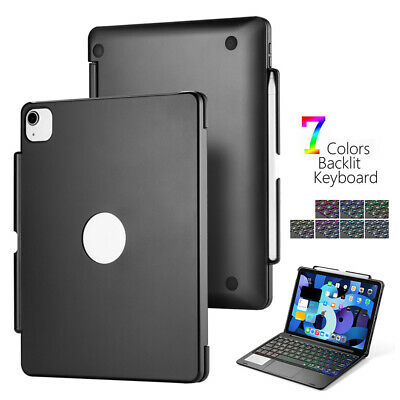 For Apple IPad Air 4 10.9 2020 Backlight Touchpad Wireless Keyboard Case Cover • 40.32£