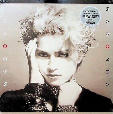 MADONNA- The First 1983 Debut Album LP (NEW SEALED 2019) *CRYSTAL CLEAR VINYL* • 14.99£
