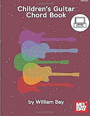 Childrens Guitar Chord Book, Bay, William, Used; Good Book • 7.76£