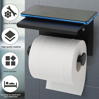 AU15.99 • Buy 304 Stainless Steel Toilet Paper Roll Holder Tissue Bath Accessory Storage Hook