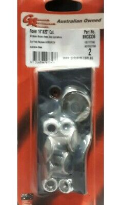 A03830/672K Replacement Lawn Mower Blade & Bolt Set Suit Rover 18  & 20  BNC6336 • 16.30£