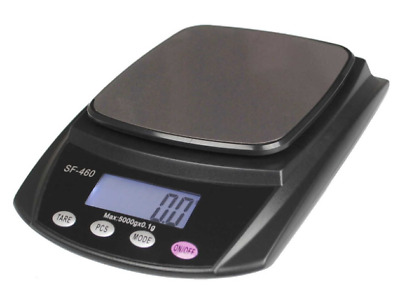 AU74.99 • Buy Digital Electronic Scales 600g X 0.01g Balance Weigh LCD Display Lab Industrial