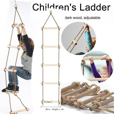 Strong Indoor/Outdoor Rope Climbing Ladder For Escape Training Fire Rescue • 13.88£