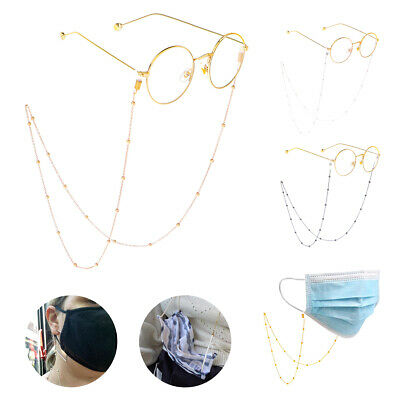 Glasses Neck Cord Strap String Lanyard Chain Sunglasses Reading Spectacles UK • 4.39£
