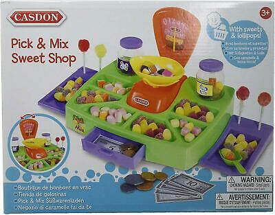 Casdon Toy Pick And Mix Sweet Shop Supplied With Display Counter Working Scales • 11.63£