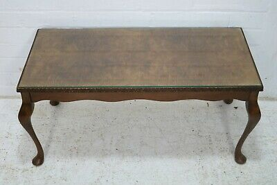 £135 • Buy Vintage Walnut Coffee Table With Cabriole Legs