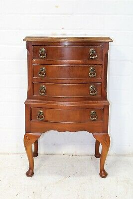 £165 • Buy Vintage Mahogany Chest Of Drawers With Cabriole Legs
