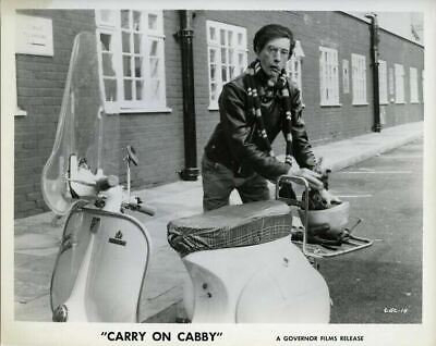£14.15 • Buy Carry On Cabby Charles Hawtrey Vintage Scooter British Comedy Original Photo