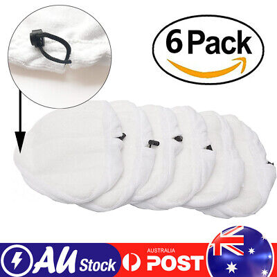 AU18.05 • Buy 6x Washable Microfiber Replacement Cleaning Mop Pad For H2O H20 X5 Steam Cleaner