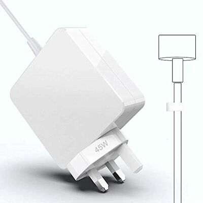 $47.93 • Buy Mac Book Air Charger, 45W Magnetic T-Tip Power Adapter Charger Replacement For M
