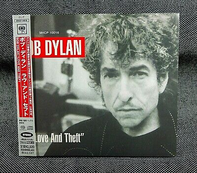 BOB DYLAN JAPAN PROMO CD LOVE AND THEFT With Obi • 8.37£
