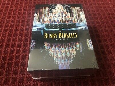 £58.19 • Buy The Busby Berkeley Collection (DVD, 2006, 6-Disc Set) Brand New Sealed*