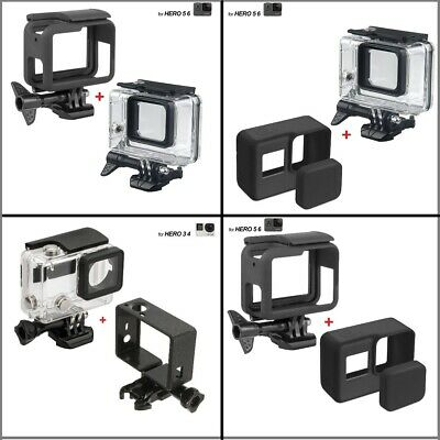 AU10.84 • Buy Diving Waterproof Housing Case For GoPro Hero6/5/4 Protective Camera Accessories