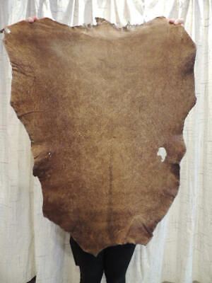 £15.61 • Buy Waxy DISTRESSED Full Grain Leather Hide For Native Craft Buckskin Journals Bible