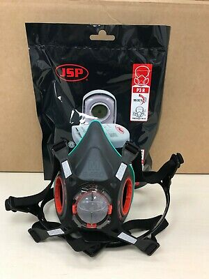 £15.95 • Buy Special Offer JSP Force 8 Medium Mask Plus P3 Press To Check Filters - Brand New
