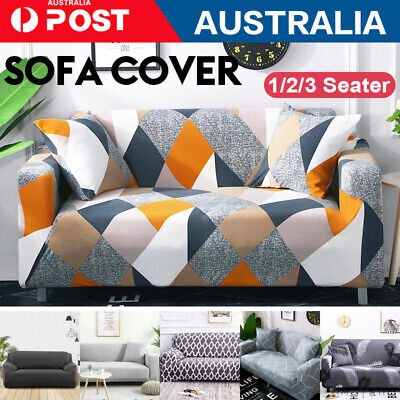 AU22.90 • Buy 1 /2 /3 Seater Sofa Cover Couch Lounge Protector Slipcovers High Stretch Covers