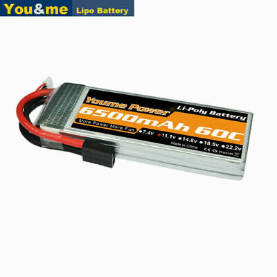 AU58.37 • Buy 11.1V 3S 6500mAh LiPo Battery 60C Traxxas For RC Car Truck Helicopter Boat