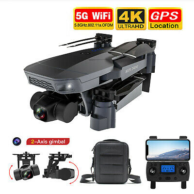 AU201.92 • Buy  Sg907 Pro 4K Drone HD Camera Drones WiFi FPV RC Quadcopter Four Axis Foldable