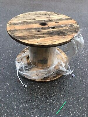 Wooden Cable Reel Drum Medium Size • 10£