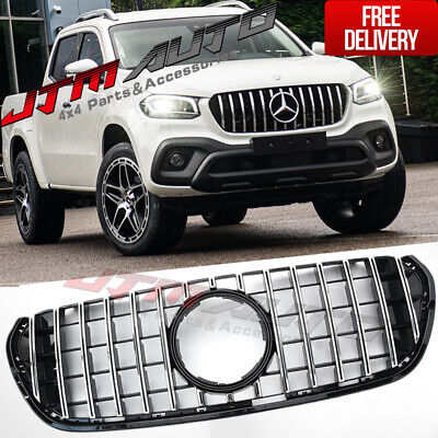 AU440.86 • Buy Chrome Black GT AMG Style Grill Grille To Suit Mercedes X-Class X CLass 470