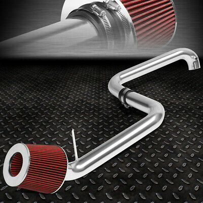 $47.33 • Buy For 01-05 Honda Civic Ex 1.7l Lightweight Cold Air Intake System+red Cone Filter