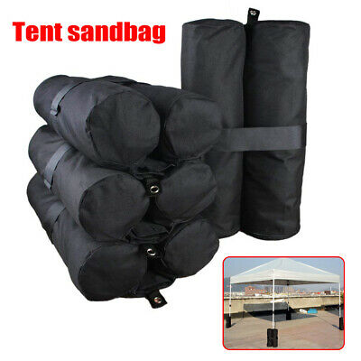 AU18.37 • Buy Gazebo Tent Foot Leg Pole Sandbag Weight Marquee Market Stall Shelter Sand Bag