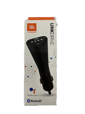 AU28.58 • Buy JBL Link Drive Bluetooth Voice-Activated Google Assistant USB Charger - NEW