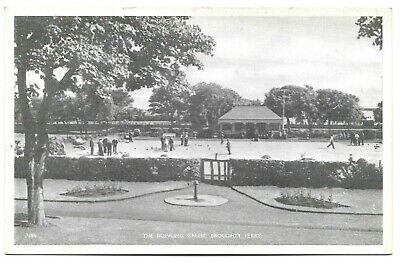 POSTCARDS-SCOTLAND-BROUGHTY FERRY-PTD. The Bowling Green. • 8£