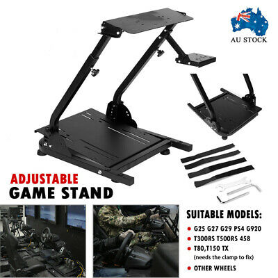 AU130.99 • Buy AU Adjustable Game Stand Game Support For Logitech G29/G27 Racing Wheel Shifter