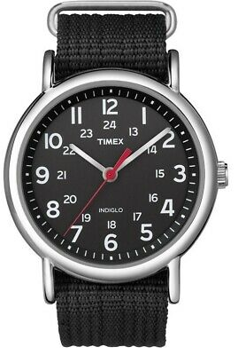 Timex Gents Easy Reader Weekender Indiglo Watch T2N647 NEW • 44.99£