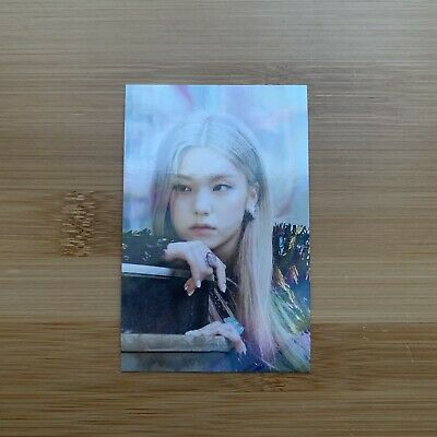 Kpop Itzy Official Not Shy Withdrama Holo Limited Yeji Photocard • 5.95£