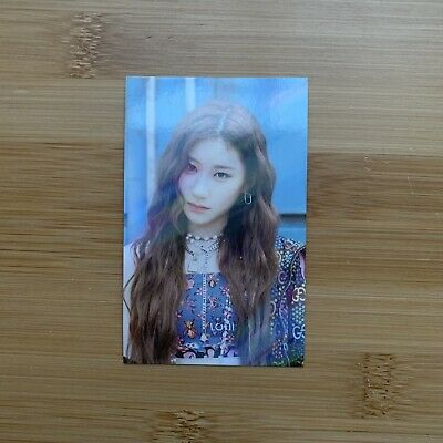 Kpop Itzy Official Not Shy Withdrama Holo Limited Chaeryeong Photocard • 5.95£