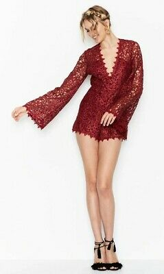 AU89 • Buy Alice McCall Gold Digger Playsuit Au4 - Red