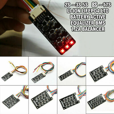 AU30.24 • Buy 2S~8S 10S~17S Li-ion LiPo Lifepo4 LFP Battery Active Equalizer BMS 1.2A Balancer