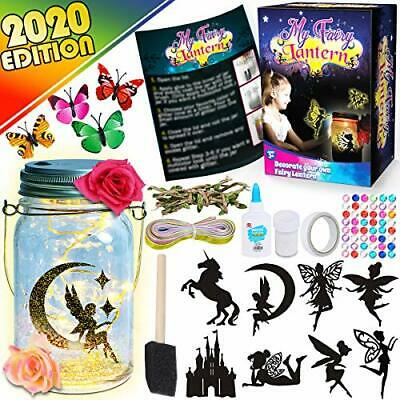 Funzbo Arts And Crafts For Girls - Craft Kits Gifts For Kids Toys DIY Art Fairy • 10.62£