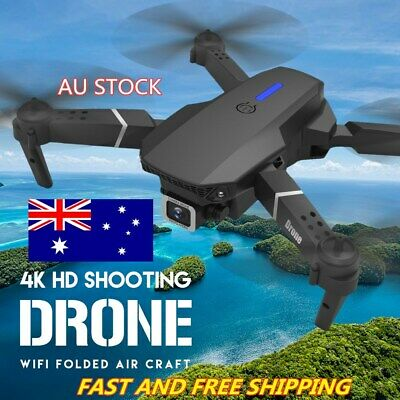AU73.05 • Buy Drone X Pro WIFI FPV 4K 1080P HD Wide-Angle Camera Foldable Selfie RC Quadcopter