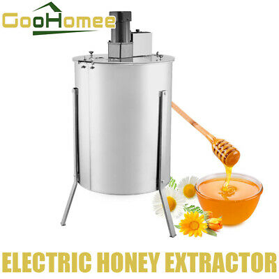 AU379.99 • Buy 2 Frame 120 W Motor Stainless Steel Electric Honey Extractor Strong Power