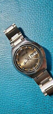 $ CDN151.24 • Buy Vintage 1972's Seiko 5 Actus SS 6106-7580 Day-Date Automatic Watch Japan Version