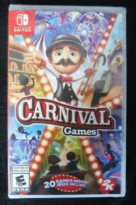 $ CDN30 • Buy Carnival Games (Switch, Brand New, Factory Sealed)