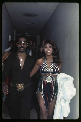 £17.98 • Buy Tina Turner And Ike Sexy Costume Rare Candid Photo Original 35mm Transparency