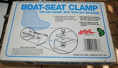 $ CDN25 • Buy  New Jon Boat Seat Clamps With No Swivel  Made In Usa